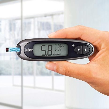 Le lecteur OneTouch UltraMini®, une manière facile de controler sa glycémie partout