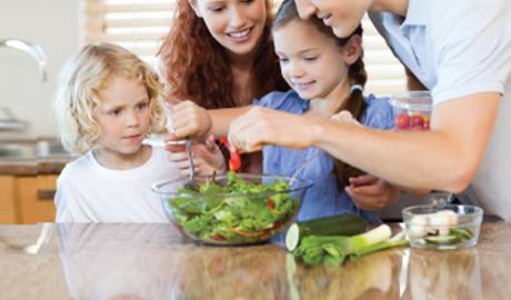 La famille OneTouch explore le lien entre le diabète et la nourriture