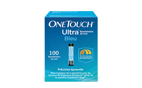 Bandelettes de test OneTouch Ultra®