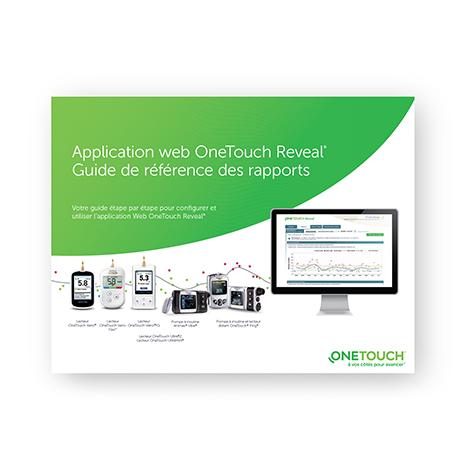Familiarisez-vous avec les rapports de l'application Web OneTouch Reveal®